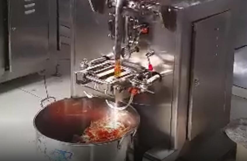 辣椒油立式包装机