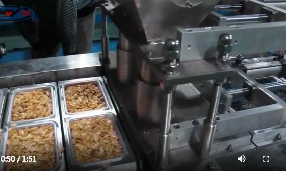 盒装花生米灌装封膜机械