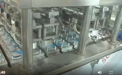 12杯高产量酸奶灌装封口机