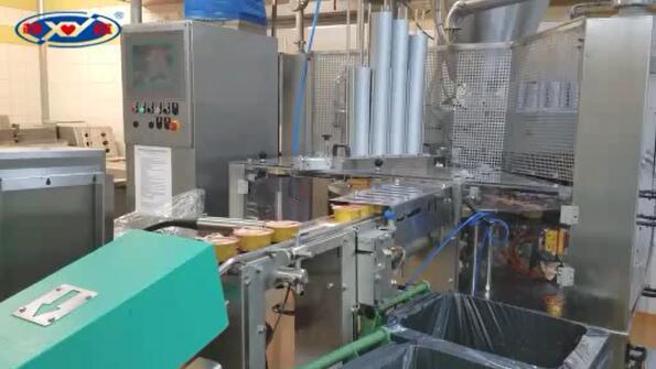 波兰铝杯圆盘灌装封口机