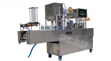 全自动果冻果汁灌装封口机